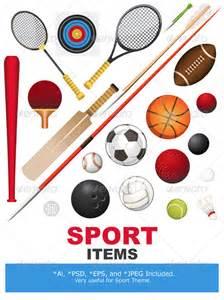 sports equipment graphicriver