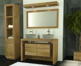 achat meuble de salle de bain groix walk meuble en teck