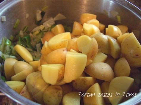 Potato Tx by Tartan Tastes In Scottish Recipe Potato And Leek Soup