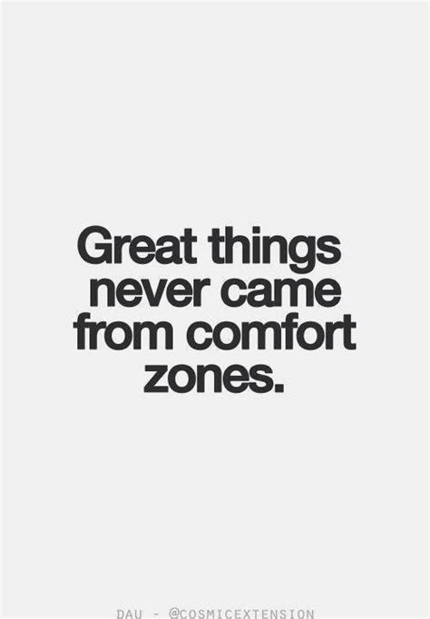 Great Things Never Came From Comfort Zones   Ben Francia