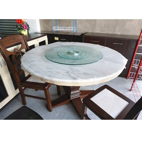 Table Turning by Dhome Spm 70 Cm Tempered Glass Rotating Top