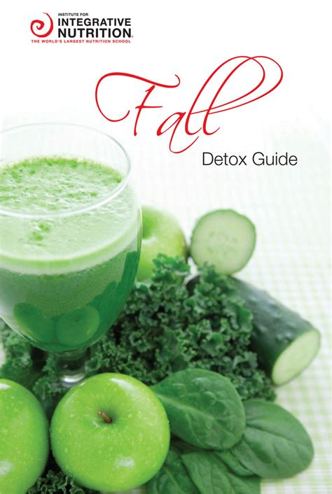 10 Day Detox Recipe Guide by Fall Cleanse Recipe Guide