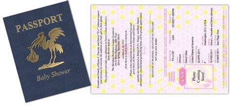 passport baby shower invitations sorepointrecords