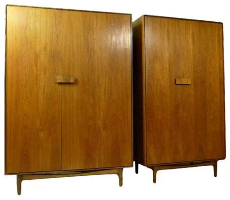 modern wardrobe armoire mid century modern armoires by kofod larsen midcentury