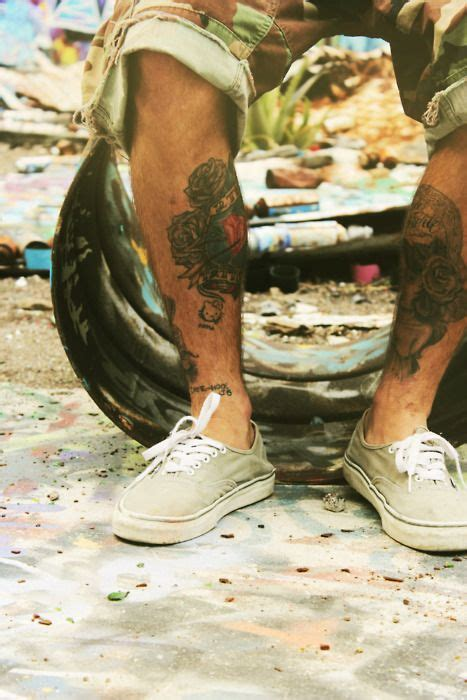 camo leg tattoo is that hello kitty i see tattoos pinterest