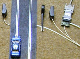 scalextric subaru challenge science experiment measuring the speed of a model car