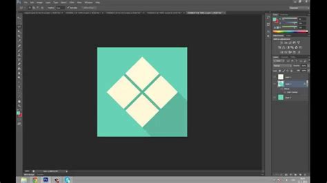 design icon in photoshop flat design icon tutorial adobe photoshop cs6 youtube