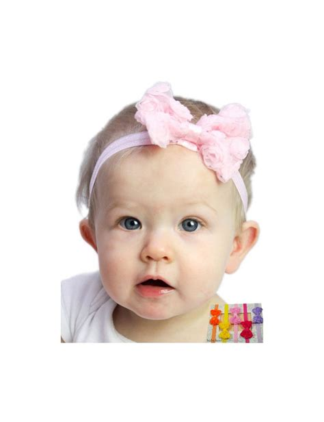baby headbands baby headband uk small chiffon tulle bow baby headband available in many
