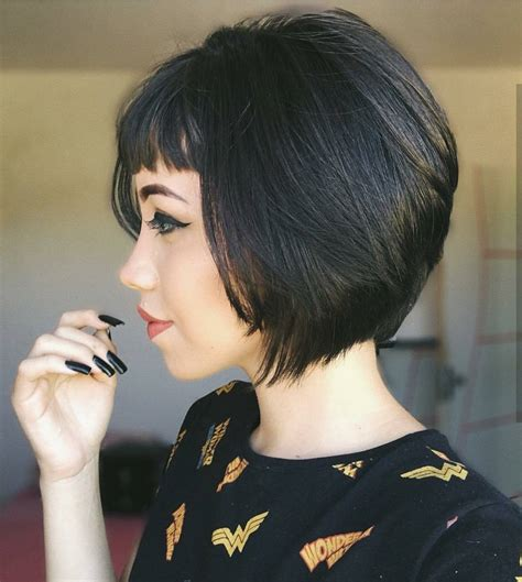 short haircuts bob style 10 chic short bob haircuts that balance your face shape