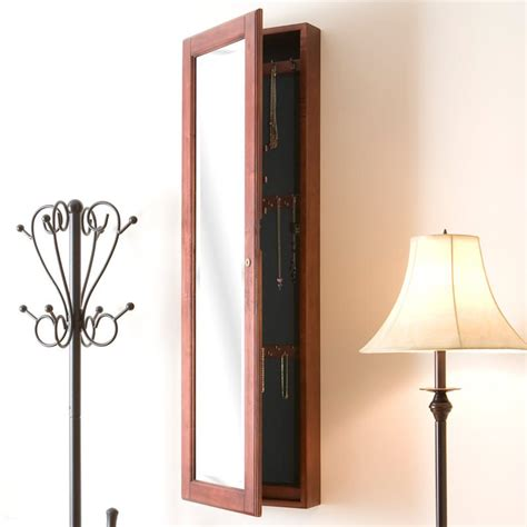hanging jewelry armoire let s manage your jewelry collections tidily in this