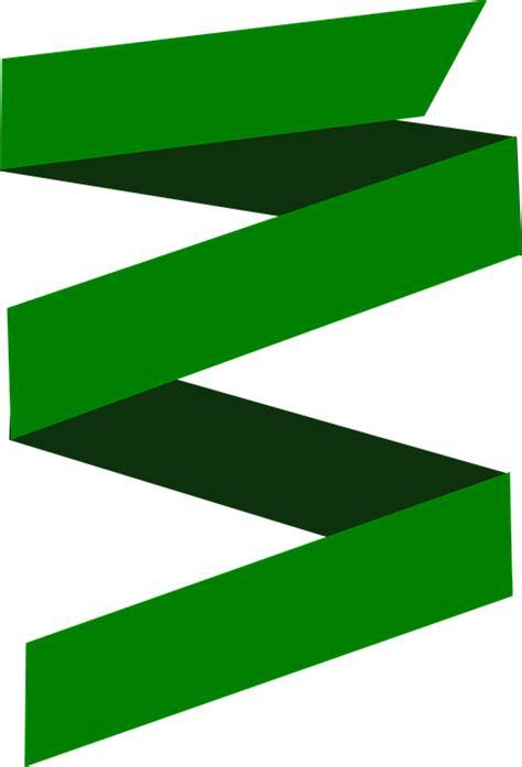 design banner png free illustration green ribbon banner design free