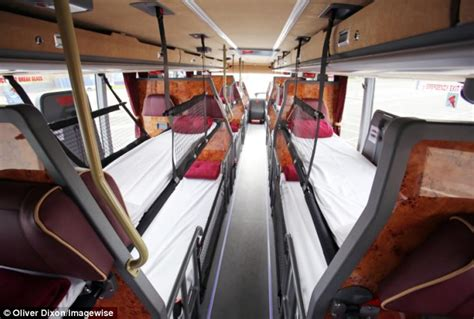 bus with beds megabus launch bus with beds which will travel from london