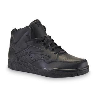 wide high top basketball shoes reebok s black wide high top basketball shoe