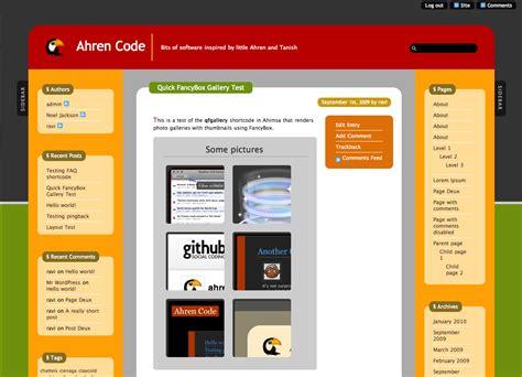 wordpress layout sidebar wordpress ahimsa 2 columns left sidebar wordpress theme