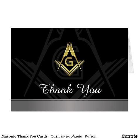 freemason business card templates masonic thank you cards custom freemason card