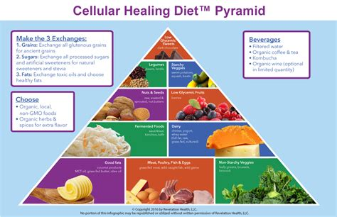 True Cellular Detox Pyramid by Cellular Healing Diet 1 Week Menu Plan