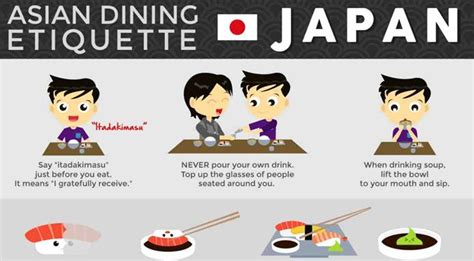 why is table etiquette important 10 important table manners when japanese food