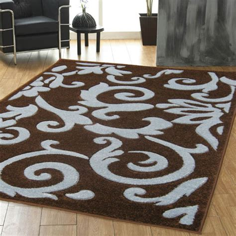 ultimate rug co rapello tuscany rug in chocolate and teal