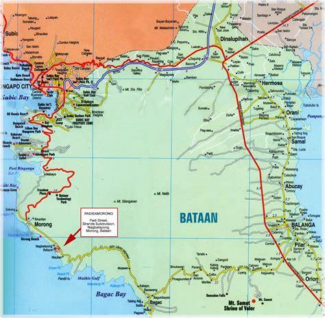 fort morong resort map january 2013 discover bataan
