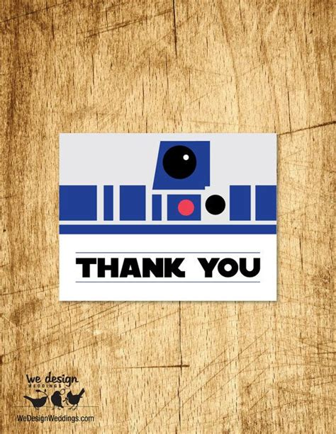 a2 thank you card template wars inspired thank you card printable diy 4 25x5 5