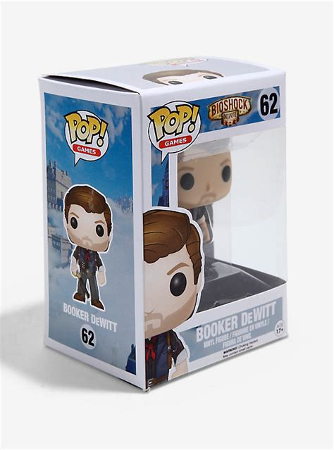 funko pop bioshock infinite booker dewitt skyhook vinyl
