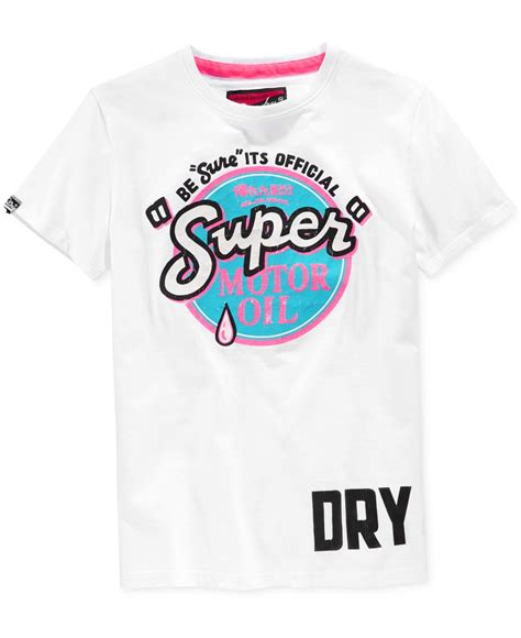 Superdry Casual Tshirt superdry s reworked classic fluorescent graphic print
