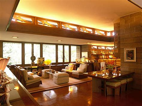The Wright Interiors by Frank Lloyd Wright