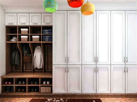 inspiring entryway organization ideas designer trapped mudroom closet ppi blog