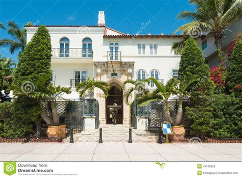 Versace House South by The Versace Mansion In South Miami Editorial Photo