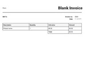 blank invoice template uk free invoice templates invoices