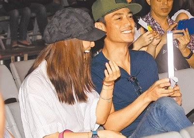 Wallace At Bay so man wallace huo protects ruby from the crowd