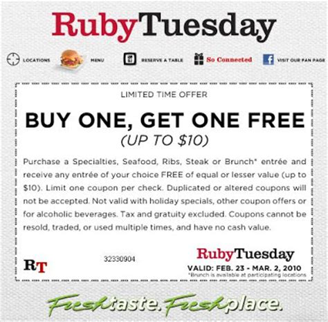 Ruby Tuesday Gift Card Discount - ruby tuesday coupons discounts 2015 best auto reviews