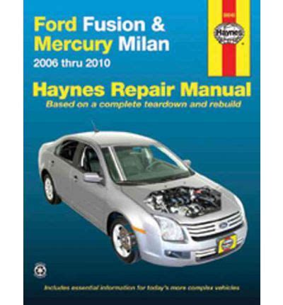service manual auto repair manual online 2005 mercury sable parking system mercury sable ford fusion mercury milan automotive repair manual