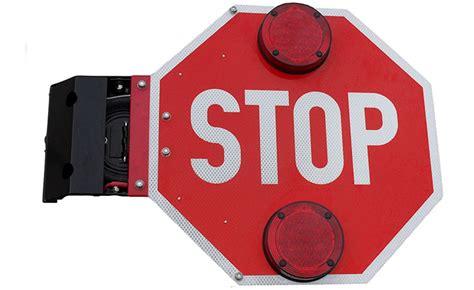 bus stop arm light led warning lights cata