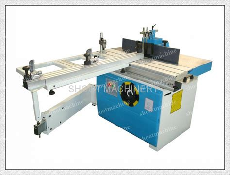 industrial woodworking tools woodworking milling machine with sliding table sh5112as