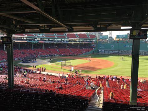 best seats at fenway park fenway park grandstand 12 rateyourseats