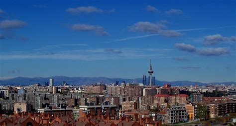Landscape Design Pictures 2007 Madrid Spain Skyline Bohemestudio Com