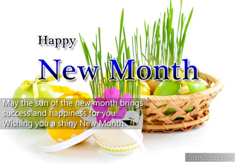 happy new month sms happy new month greetings
