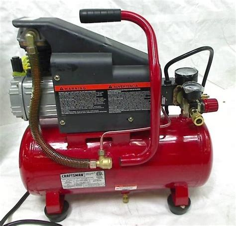 craftsman 3 gallon air compressor craftsman 3 gallon 125 psi 1hp air compressor ebay