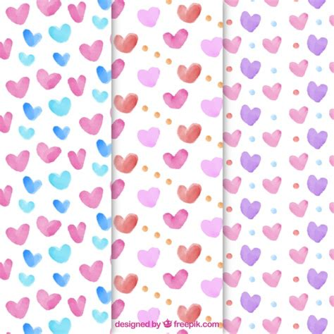 download heart pattern mp3 hearts pattern collection vector free download