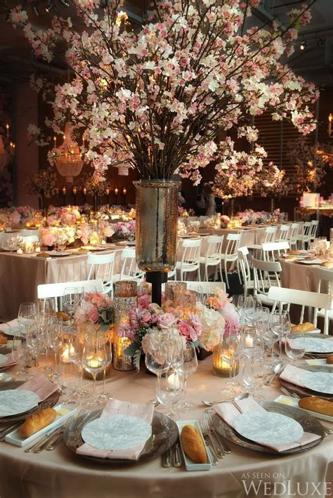 The 25  best Cherry blossom centerpiece ideas on Pinterest