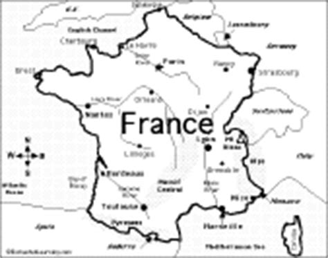 coloring page map of france france enchantedlearning com