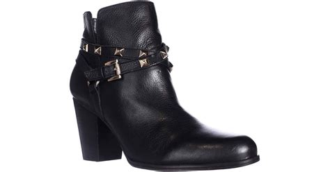 Dress Black Studed Guess Branded Murah guess fran studded dress ankle booties in black lyst
