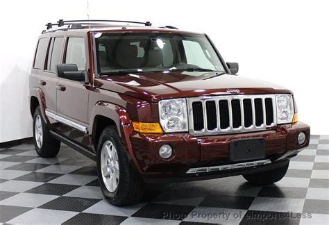 2008 Used Jeep Commander Certified Commander 4wd V8 Hemi