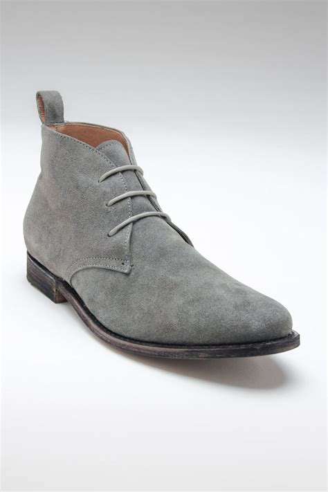 jd fisk franklin chukka boot grey suede my