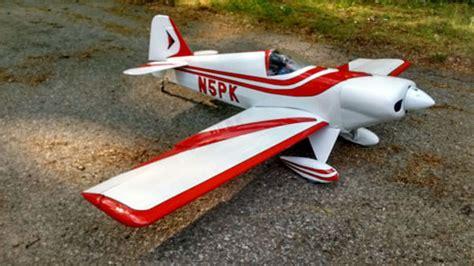 outerzone kraft super fli plan   vintage model aircraft plan