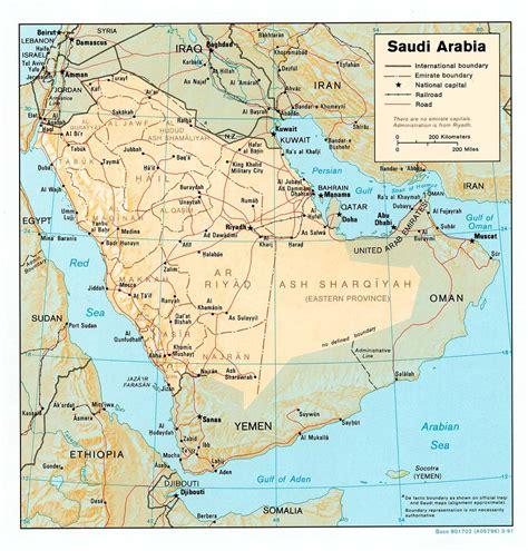 map arab nationmaster maps of saudi arabia 13 in total