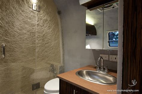 airstream bathroom jetson green eco airstream on the green road