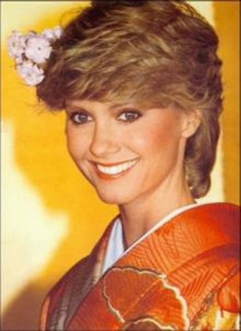 olivia newton johns physical haircut physical physical olivia newton john pinterest