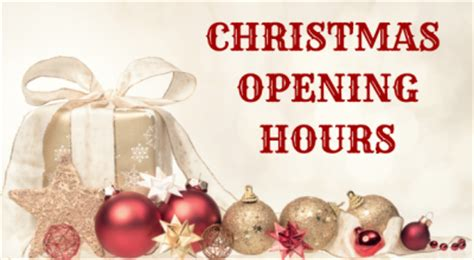 christmas trading hours at erina fair rushmere shopping centre